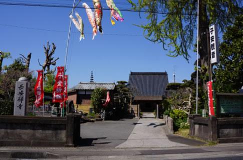 寺院入り口