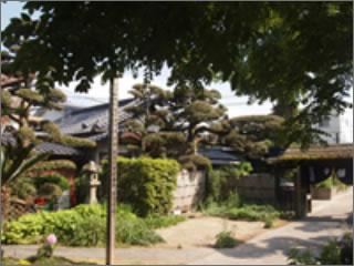 寺院内風景
